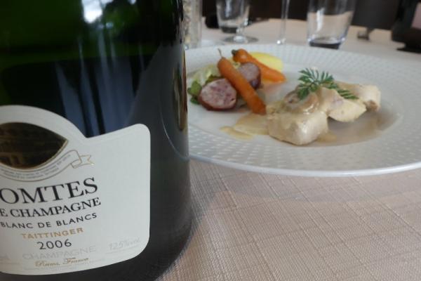 soirée Champagne Taittinger