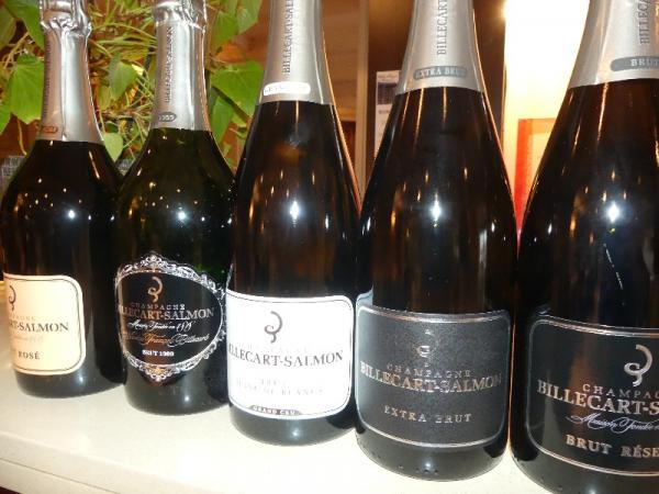 soirée Champagne Billecart Salmon 15 décembre 2017
