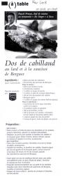 Recettes Nord