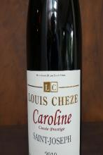 Rhône septentrionale  Saint Joseph rouge « Caroline « Cheze  2019 75  cl