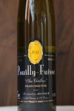 Bourgogne blanc Pouilly Fuissé chardonnay domaine Auvigue 2018 75 cl