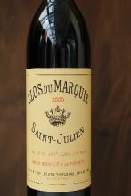 Bordeaux rouge Saint Julien clos du Marquis 2000  75 cl