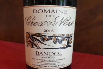 Bandol rouge Domaine Gros Noré 2015  vin de Provence en 75 cl
