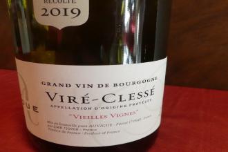 Vire Clessé domaine Auvigue Bourgogne blanc  2019 en 75 cl